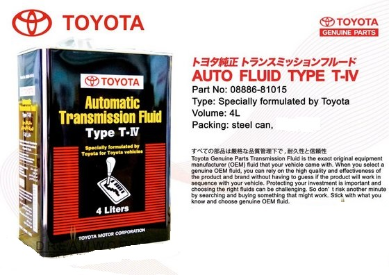 toyota atf type t-iv